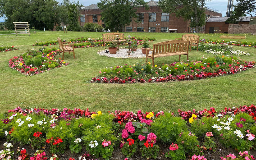 NAAFI contributes £10,000 to community and mental health garden in Wales